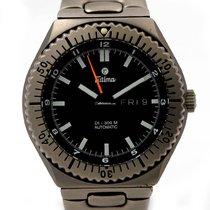 Tutima Military Diver in Titan mit Automatik DayDate um 2003