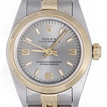 Rolex Ladies Oyster Perpetual 2-Tone Watch 67193