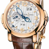 Ulysse Nardin 326-60/60 Rose gold 2020 GMT +/- Perpetual 42mm new