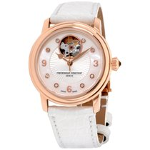 Frederique Constant Heart Beat Mother Of Pearl Ladies Watch...