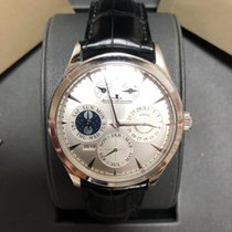 Jaeger-LeCoultre Master Eight Days Perpetual Aço 40mm Prata
