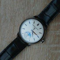 Frederique Constant Chronometer 40.5mm Automatisch 2018 tweedehands Manufacture Classic Moonphase Zilver