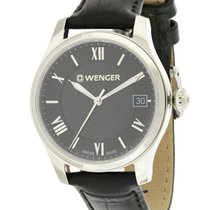Wenger Terragraph Leather Ladies Watch