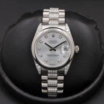 Rolex Platinum Blue 31mm pre-owned Datejust