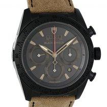 Tudor Fastrider Black Shield neu Automatik Chronograph Uhr mit Original-Box und Original-Papieren M42000CN-0016