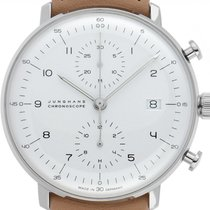 Junghans Steel 40mm Automatic 027/4502.00 pre-owned