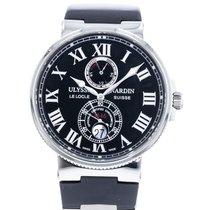 Ulysse Nardin Marine Chronometer 43mm Steel 43mm Black