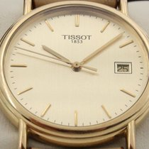 Tissot Yellow gold 34mm Quartz pre-owned