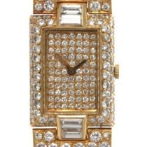 Boucheron Zuto zlato Kvarc Boucheron Pearl & Diamond Watch rabljen