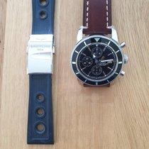 Breitling Superocean Héritage Chronograph Stahl Schwarz Keine Ziffern Deutschland, 85640
