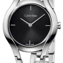 ck Calvin Klein Stahl 32mm Quarz K6R23121 neu