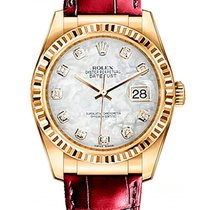 Rolex Yellow gold Automatic 36mm new Datejust