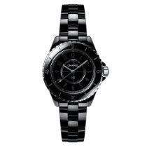 Chanel J12 Céramique 33mm Noir
