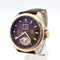 TAG Heuer Grand Carrera Gold/Steel 42.5mm Brown