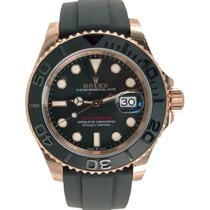 Rolex Yacht-Master 40 Rose gold 40mm Black No numerals United States of America, New York, Manhattan