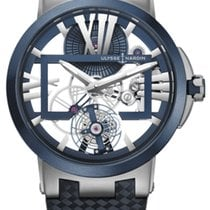 Ulysse Nardin Executive Skeleton Tourbillon new 2019 Manual winding Watch with original box and original papers 1713-139/43