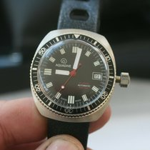 Aquanautic Steel 37mm Automatic Aquadive Vintage Diver 200m 1962-1966 ETA 2824 new