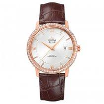 Omega 424.58.40.20.52.002 Oro rosa De Ville Prestige 39.5mm nuevo