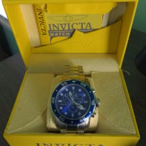 Invicta 48.8mm Quartz 15423 tweedehands