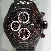 Zeno-Watch Basel Otel Atomat 4750BK-a1M nou