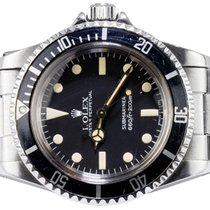 Rolex Submariner (No Date) Steel 40,00mm Black No numerals