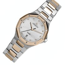 Michel Herbelin Odyssée Gold/Steel 29mm Mother of pearl