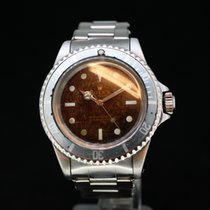 Rolex submariner Ref 5513 Tropical Gilt Dial Meters First aus...