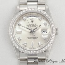 Rolex Daydate Platin 950 Diamanten Automatik 36 mm DayDate