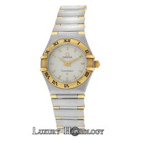 Omega Authentic Ladies Constellation 22mm 18K Gold & Steel