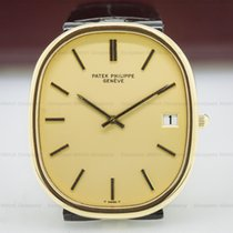 Patek Philippe 3605 Golden Ellipse 18K Yellow Gold Champagne...