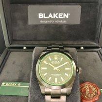 Rolex Milgauss 116400GV Blaken DLC Black