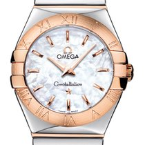 Omega 27mm Cuarzo nuevo Constellation Quartz Madreperla