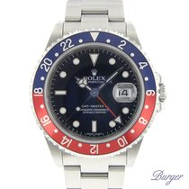 Rolex Gmt-Master II Stick Dial Pepsi Full Set Extra Bezel and...