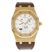 Audemars Piguet Royal Oak Dual Time Rose gold 39mm Silver No numerals United States of America, New York, New York