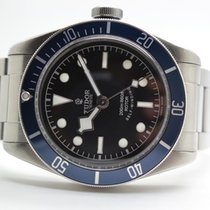 Tudor Heritage Black Bay Blue Stahlband - LC110