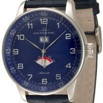 Zeno-Watch Basel Aço 44mm Automático P590-g4 novo