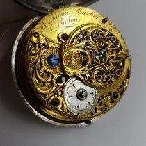 Benjamin Barber London Silver Pocket Watch