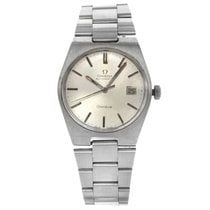 Omega Genève Steel 34mm Silver No numerals United States of America, New York, NYC