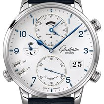 Glashütte Original Senator Cosmopolite Steel 44mm Silver United States of America, New York, Airmont