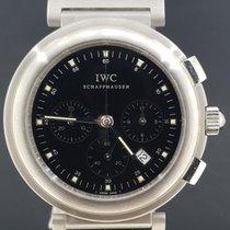 IWC Da Vinci Chronograph Acier 37mm Noir Sans chiffres