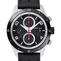 Montblanc Steel 43mm Automatic 116096 new