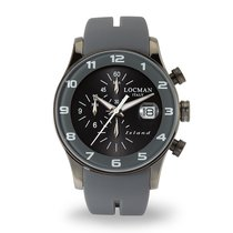 Locman Island Steel 40mm Grey