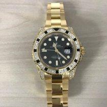Rolex 116758SANR Gelbgold 2019 GMT-Master II 40mm neu