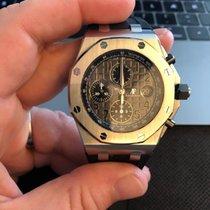 Audemars Piguet Royal Oak Offshore Chronograph Stål 42mm Grå Arabertal Danmark, Copenhagen NV