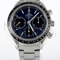 Omega Speedmaster Racing Stal 40mm Niebieski
