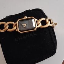 Chanel Yellow gold Automatic Gold No numerals pre-owned Mademoiselle