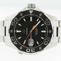 TAG Heuer Aquaracer 500M Steel 43mm Black No numerals United States of America, New York, Massapequa Park