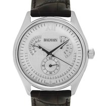 Balmain Steel 42mm Quartz B72815222 new