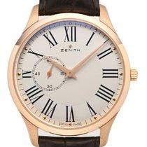 Zenith Elite Ultra Thin Rose gold 40mm White