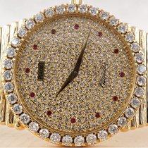 Piaget Emperador 12336 C 516 Ubrukt Gult gull 34mm Automatisk